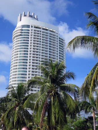 miami florida: modern high-rise architecture in Miami, Florida, USA Stock Photo
