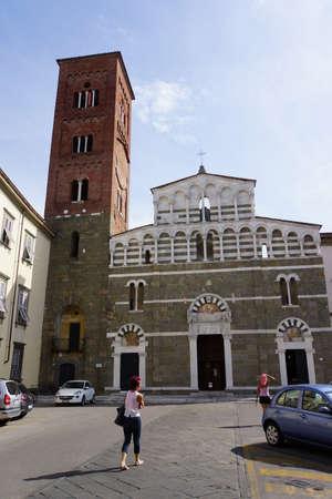 pietro: Church of San Pietro Somaldi, Lucca, Tuscany, Italy