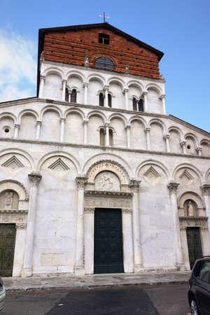lucca: Church San Maria Forisportam, Lucca, Tuscany, Italy