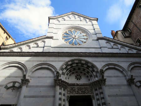 lucca: Church San Christoforo, Lucca, Tuscany, Italy