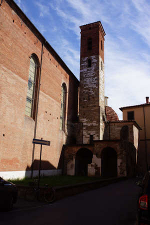 lucca: Church San Agostino, Lucca, Tuscany, Italy
