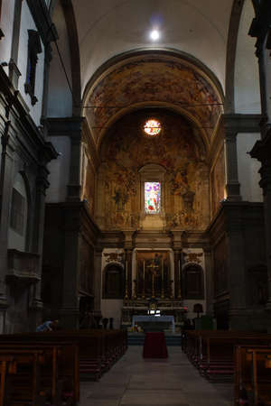 lucca: San Paolino church, in Lucca, Tuscany, Italy Editorial