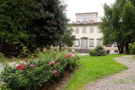 Villa Bottini, Lucca, Toskana, Italien Editorial