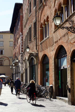 old town: historic old town, Lucca, Tuscany, Italy