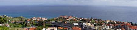 baixa: view on Canico de Baixa, Madeira, Portugal