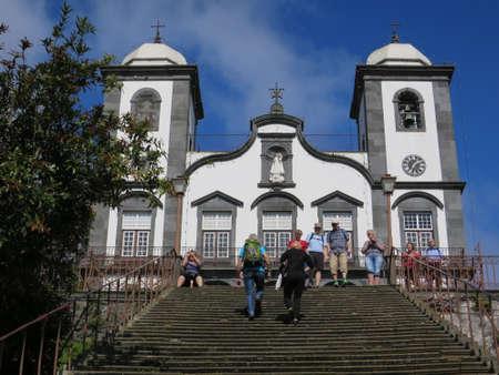 pilgrimage: Pilgrimage church of Nossa Senora do Monte, Funchal, Madeira, Portugal