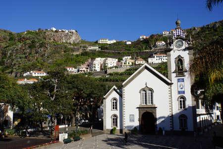 steeples: Kirche Sao Bento, Ribeira Brava, Madeira, Portugal