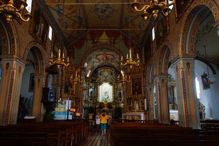 high altar: church of Sao Vicente