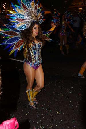big carnival parade, Funchal, Madeira, Portugal Redakční