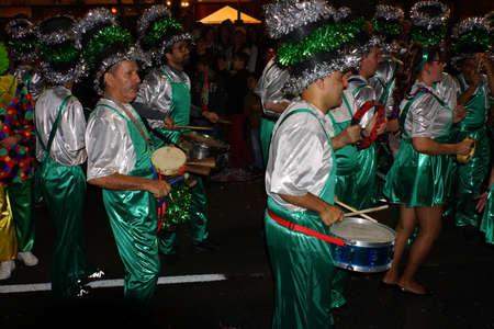 big carnival parade, Funchal, Madeira, Portugal