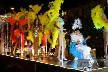 parade: Carnival parade, Funchal, Madeira, Portugal