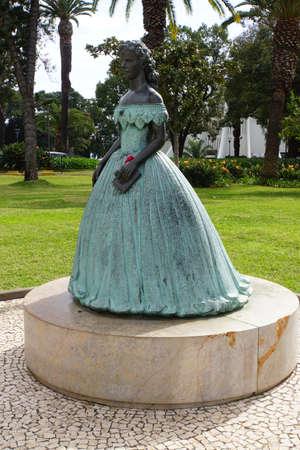 elisabeth: Elisabeth of Austria Hungary monument, Funchal, Madeira, Portugal