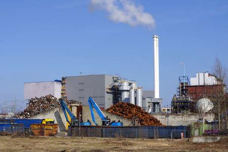 knapsack: Industry park Knapsack, Huerth, Nordrhein-Westfalen, Germany