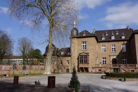 historically: Castle Noervenich, Nordrhein-Westfalen, Germany
