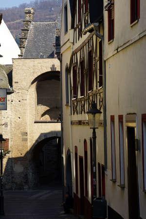 serviceable: Rhine gate, Andernach, Rheinland-Pfalz, Germany