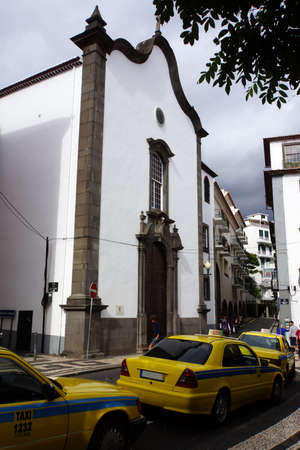 carmo: Igreja de Nossa Senhora do Carmo, Funchal, Madeira, Portugal Stock Photo