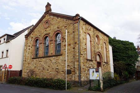 synagogue: former synagogue, today space event, Bad Neuenahr, Rheinland-Pfalz, Germany