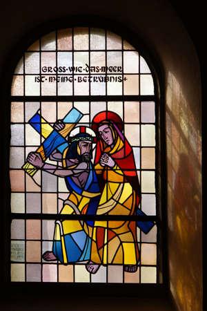 parish: Parish church Maria proclamation, Altenahr, Rheinland-Pfalz, Germany