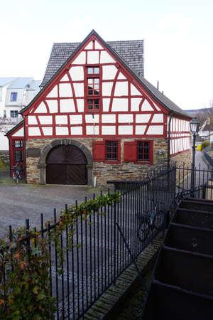 historically: Schuetzen Museum in the old tithe barn, Ahrweiler, Rheinland-Pfalz, Germany