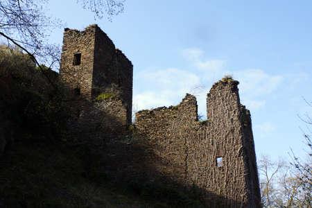 ruin: Ruin castle Are, Altenahr, Rheinland-Pfalz, Germany