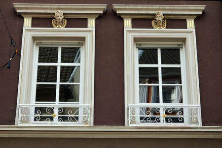 Nouveau house in the historic Old Town, Ahrweiler, Rheinland-Pfalz, Germany
