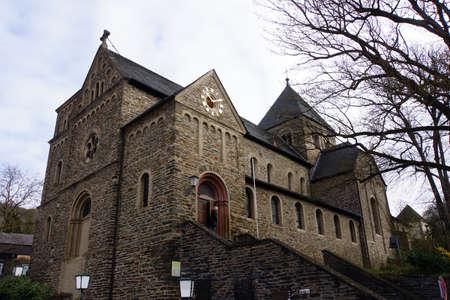 proclamation: Parish church Maria Annunciata, Altenahr, Rheinland-Pfalz, Germany
