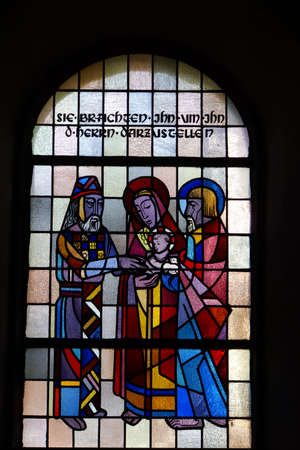 parish: Parish church Maria Annunciata, Altenahr, Rheinland-Pfalz, Germany