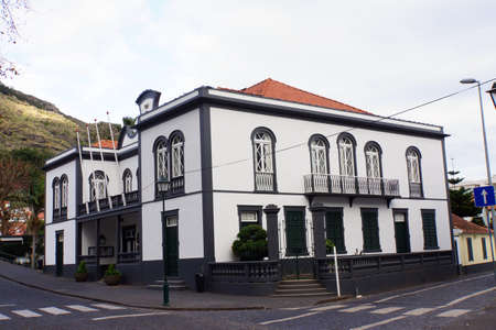 baudenkmal: Town Hall, Machico, Madeira, Portugal