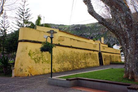 forte: Fort Forte de Nossa Senhora do Amparo, Machico, Madeira, Portugal