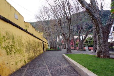 gelb: Fort Forte de Nossa Senhora do Amparo, Machico, Madeira, Portugal