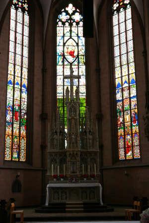 johannes: Neustadt church St. Johannes Baptista - World Heritage historic old town Warburg, Nordrhein-Westfalen, Germany