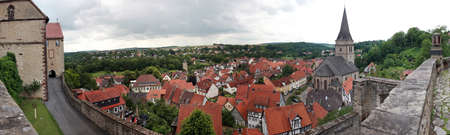world cultural heritage: World Cultural Heritage historic old town Warburg, Nordrhein-Westfalen, Germany Stock Photo
