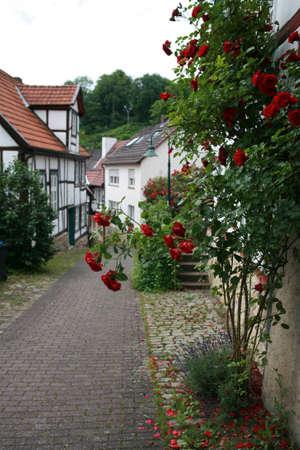 altstadt: World Heritage historic old town Warburg, Nordrhein-Westfalen, Germany