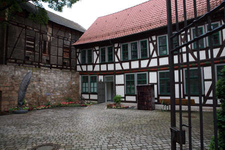 syndicate: Syndicate yard - Historic Old Town Muehlhausen, Thuringia, Germany
