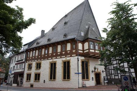 Patrizierhaus Brusttuch - Fachwerkhaus in der Altstadt, Goslar, Niedersachsen, Deutschland Standard-Bild