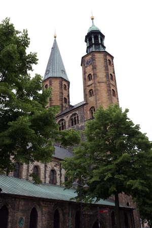 Marktkirche - historische Stadt, Goslar, Niedersachsen, Deutschland Standard-Bild