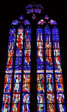 教区教会ザンクト ・ ゲオルク、ボホルト、ノルトライン ・ ヴェストファーレン州、ドイツ 報道画像