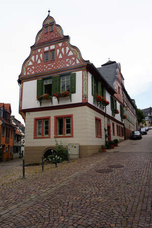 hessen: Timbered house in the historic center, Idstein, Hessen, Germany