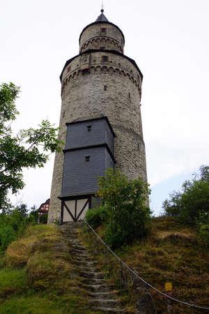 altstadt: Witches tower, Idstein, Hessen, Germany