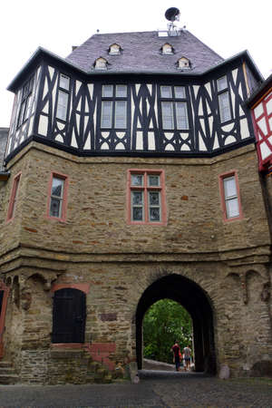 hessen: chancery gate, Idstein, Hessen, Germany
