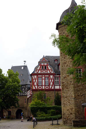 hessen: Building group of the former castle, Idstein, Hessen, Germany