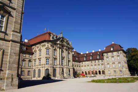 Weissenstein castle, Pommersfelden, Bayern, Germany Editorial