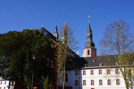 salvator: St .Salvator Basilica, Pruem, Rheinland-Pfalz, Germany