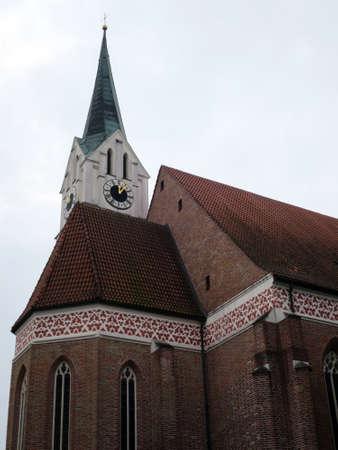 landshut: St. Nicholas Church Landshut, Bavaria, Germany
