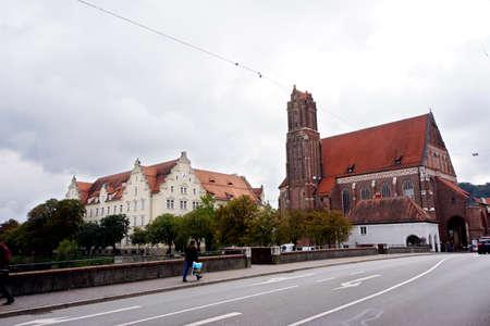 landshut: former Holy spirit church, Landshut, Bavaria, Germany