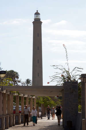 bartolome: Lighthouse of Maspalomas, San Bartolome deTirajana, Gran Canaria, Spain