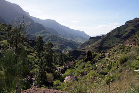 gran canaria: Landscape Park Parque Rural del Nublo, Tejeda, Gran Canaria, Spain