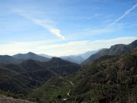 Landscape Park Parque Rural del Nublo at Ayacata, Tejada, Gran Canaria, Spain Reklamní fotografie