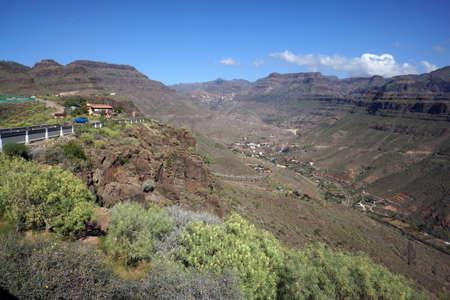 bartolome: hike in the Pilancones naturepark near Ayagaures, San Bartolome de Tirajana, Gran Canaria, Canary Islands, Spain