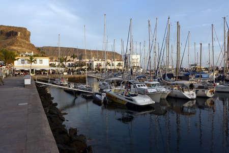 gran canaria: Marina in Puerto de Mogan, Gran Canaria, Canary Islands, Spain